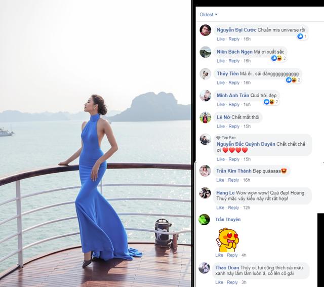 """Hoàng Thùy với BST cùng Aquafina nhận """"mưa lời khen"""" từ giới mộ điệu - 2"""