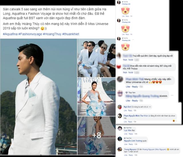 """Hoàng Thùy với BST cùng Aquafina nhận """"mưa lời khen"""" từ giới mộ điệu - 7"""
