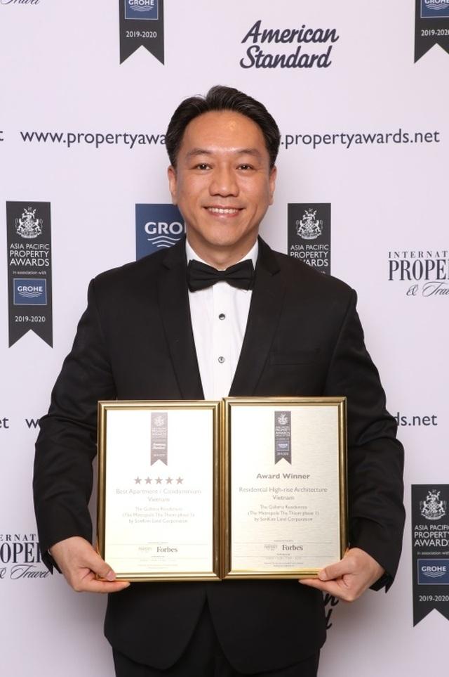 SonKim Land đạt 2 giải thưởng tại  Lễ trao giải Bất động sản Châu Á Thái Bình Dương 2019 với dự án The Galleria Residence - 3