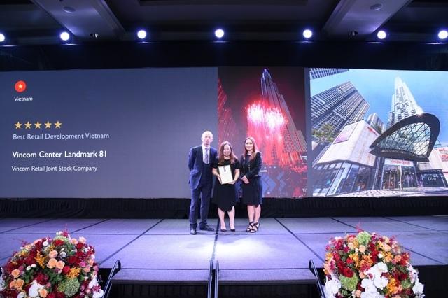 Vincom Center Landmark 81 được vinh danh trung tâm thương mại tốt nhất Việt Nam - 1
