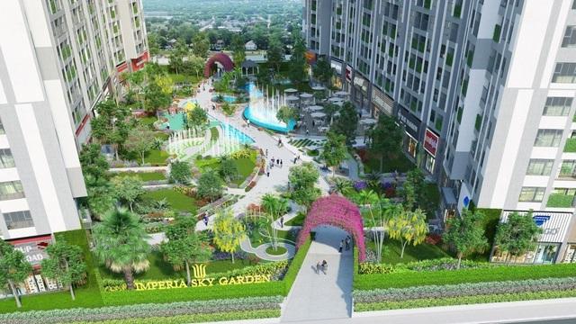 """Imperia Sky Garden và những """"độc chiêu"""" giúp cư dân tận hưởng ngày hè - 1"""