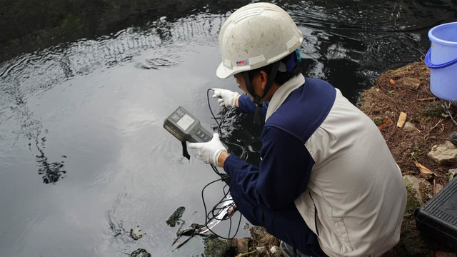 Kiểm tra chất lượng nước sông Tô Lịch sau khi áp dụng công nghệ làm sạch của Nhật Bản - 6