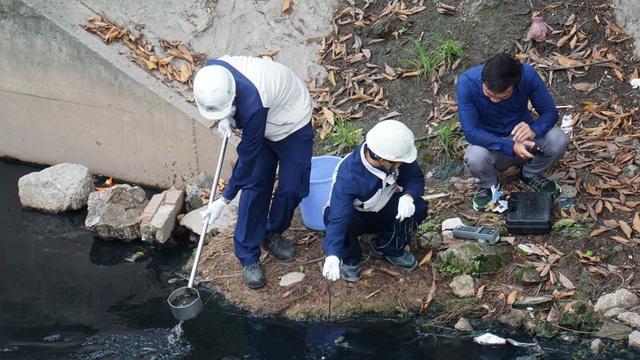 Kiểm tra chất lượng nước sông Tô Lịch sau khi áp dụng công nghệ làm sạch của Nhật Bản - 3