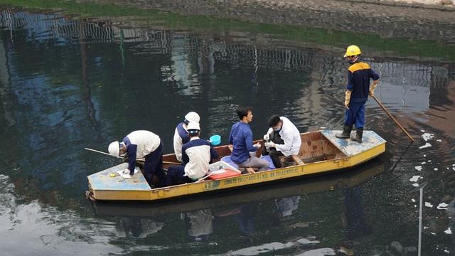 Kiểm tra chất lượng nước sông Tô Lịch sau khi áp dụng công nghệ làm sạch của Nhật Bản - 10