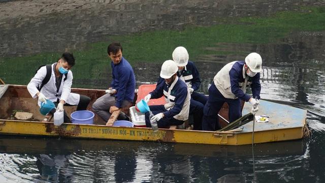 Kiểm tra chất lượng nước sông Tô Lịch sau khi áp dụng công nghệ làm sạch của Nhật Bản - 9