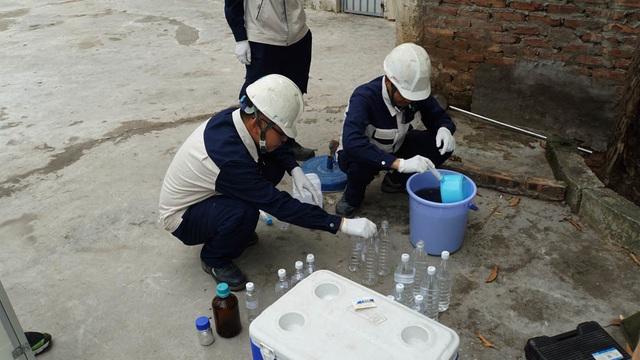 Kiểm tra chất lượng nước sông Tô Lịch sau khi áp dụng công nghệ làm sạch của Nhật Bản - 8