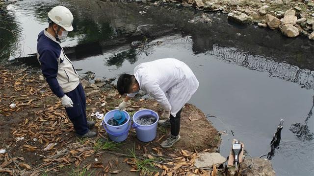 Kiểm tra chất lượng nước sông Tô Lịch sau khi áp dụng công nghệ làm sạch của Nhật Bản - 4