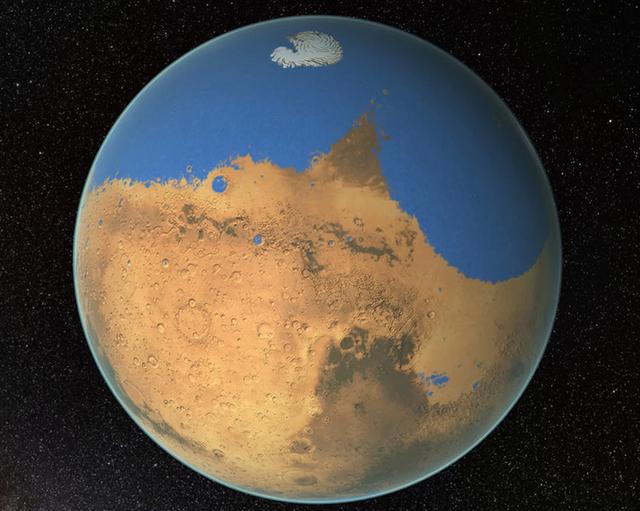 Lỗ hổng khổng lồ trong khí quyển sao Hỏa hút toàn bộ nước vào không gian - 1