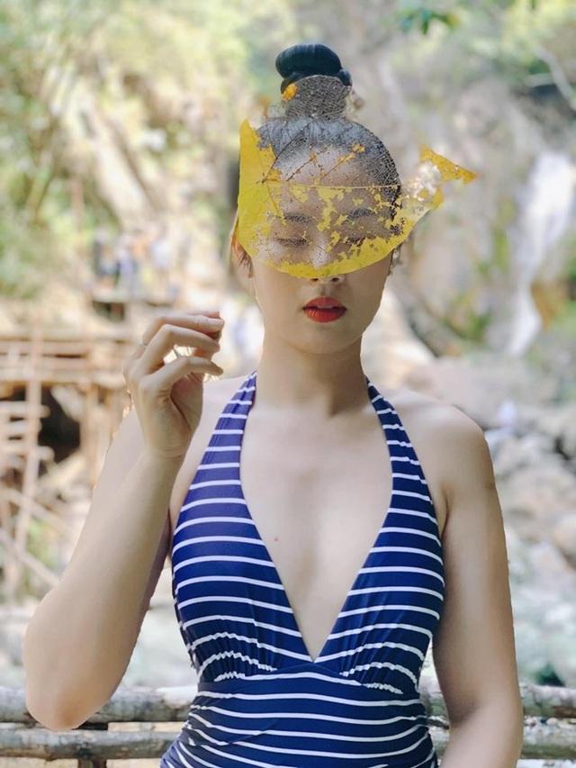 Hoa hậu Ngọc Hân bất ngờ mặc áo tắm khoe body sau nhiều năm đăng quang - 1