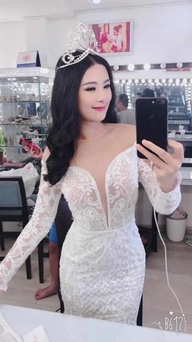 Hoa hậu Ngọc Hân bất ngờ mặc áo tắm khoe body sau nhiều năm đăng quang - 9