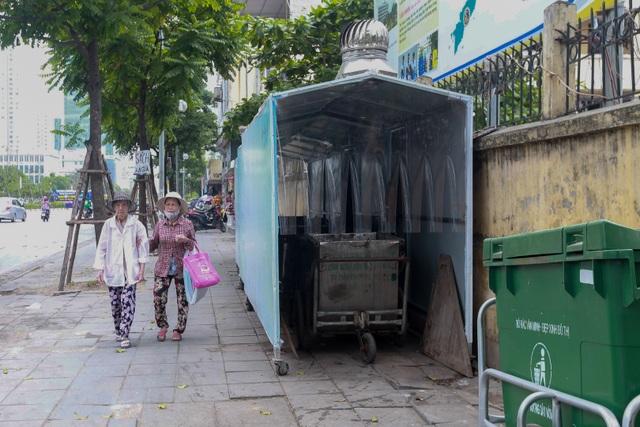 Hà Nội: Trang bị nhà ở di động cho xe đẩy rác trên nhiều tuyến phố - 8