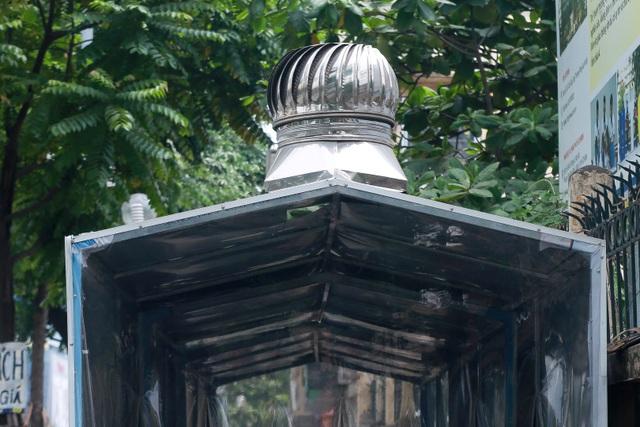 Hà Nội: Trang bị nhà ở di động cho xe đẩy rác trên nhiều tuyến phố - 5