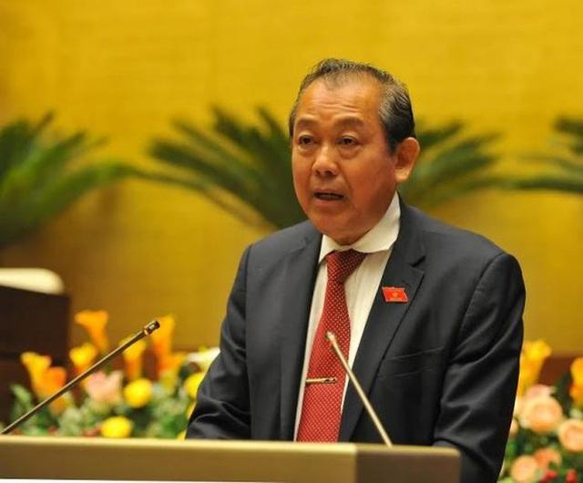 """Phó Thủ tướng Trương Hoà Bình: """"Thu hồi triệt để tài sản bị thất thoát"""" - 1"""
