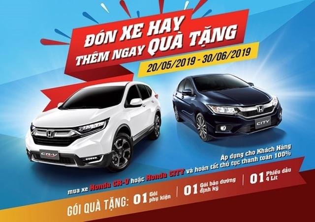 Honda gia tăng tính cạnh tranh cho City và CR-V - 3