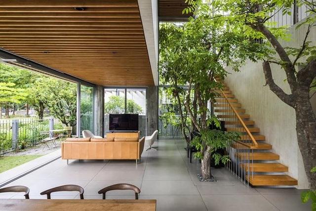 """""""Trốn"""" nóng trong ngôi nhà phủ kín cây xanh ở Sài Gòn - 6"""