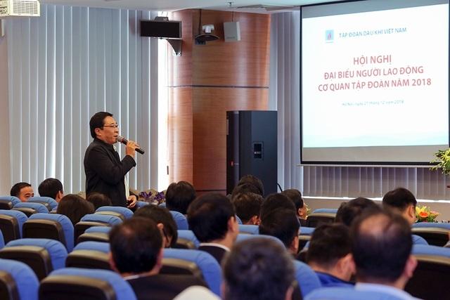Lãnh đạo Tập đoàn PVN đối thoại với người lao động - 2