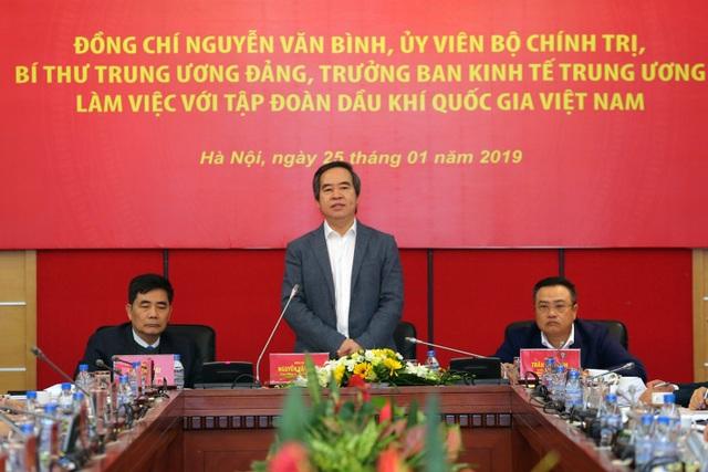Trưởng ban Kinh tế Trung ương Nguyễn Văn Bình: Ngành Dầu khí đóng góp tích cực cho quản lý kinh tế vĩ mô - 3