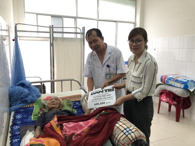 Bạn đọc Dân trí lần thứ tư giúp đỡ 2 cụ bà xin sống đến cuối đời trong bệnh viện - 2