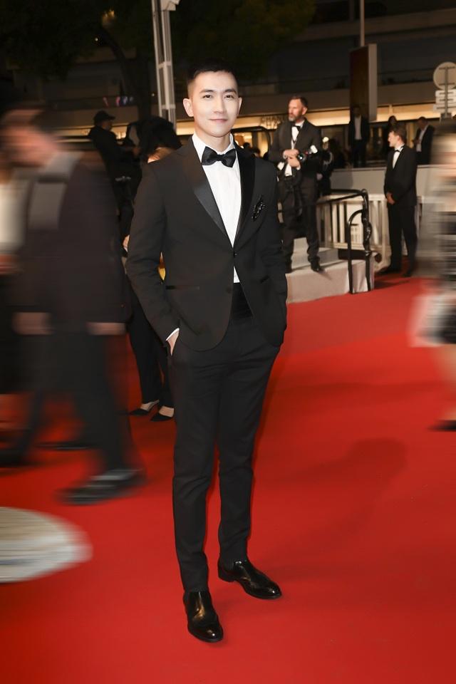 Võ Cảnh điển trai và lịch lãm trong lần đầu xuất hiện trên thảm đỏ LHP Cannes - 4