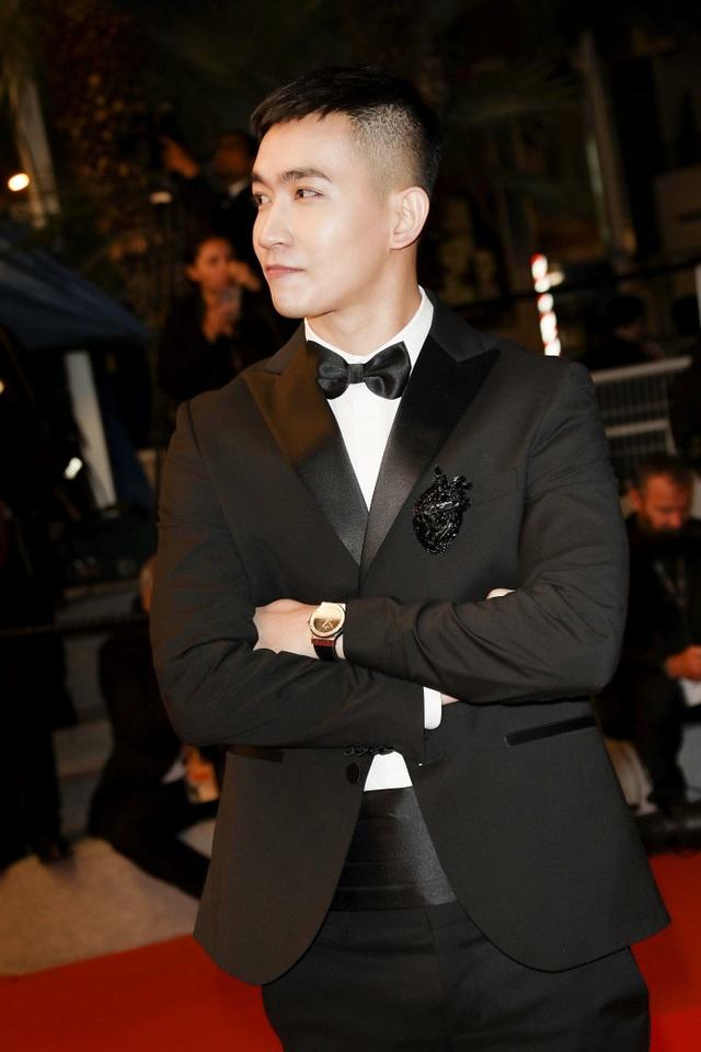 Võ Cảnh điển trai và lịch lãm trong lần đầu xuất hiện trên thảm đỏ LHP Cannes - 3