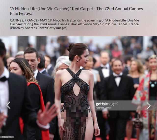 Ngọc Trinh mặc hớ hênh ở LHP Cannes, Bộ Văn hóa nói gì? - 1