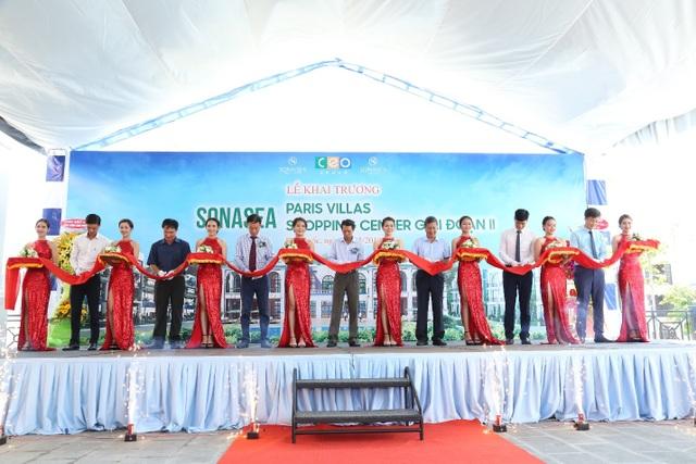 Tập đoàn CEO khai trương cùng lúc hai dự án Sonasea Paris Villas và Sonasea Shopping Center 2 tại Phú Quốc - 1