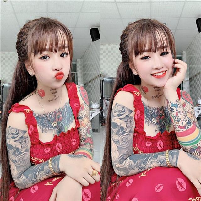 Cô gái miền Tây nhuốm kín ngực, tay bằng những hình xăm lạ - 1