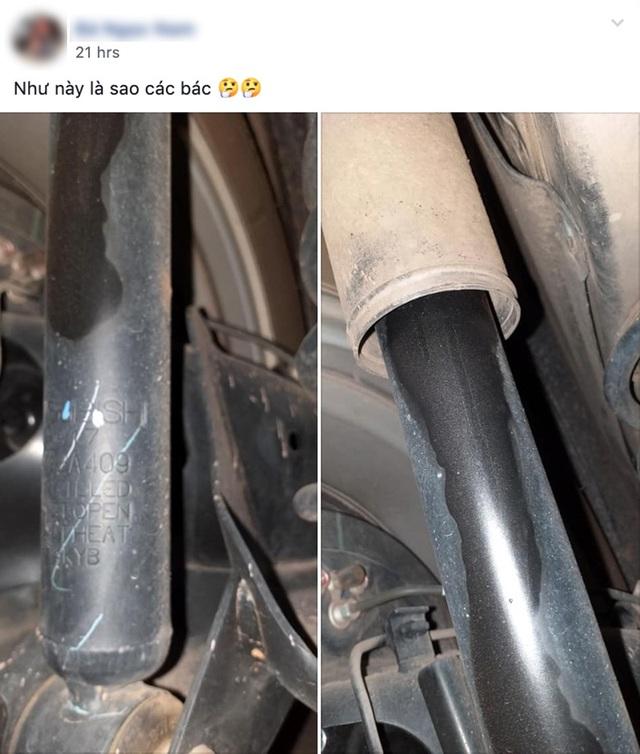 Chưa rõ ràng lỗi bơm xăng, Mitsubishi Xpander lại đối mặt vấn đề chảy dầu giảm xóc - 2