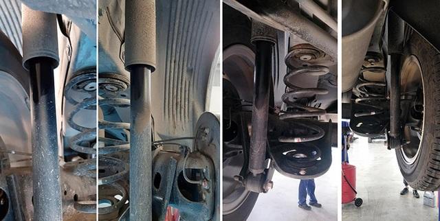 Chưa rõ ràng lỗi bơm xăng, Mitsubishi Xpander lại đối mặt vấn đề chảy dầu giảm xóc - 3