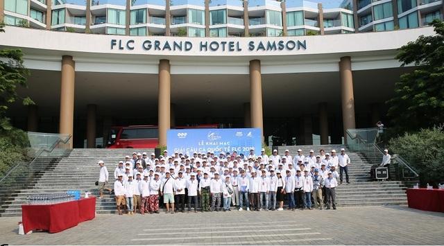 """Hơn 200 cần thủ hào hứng tranh tài tại """"Giải câu cá Quốc tế FLC 2019"""" - 1"""