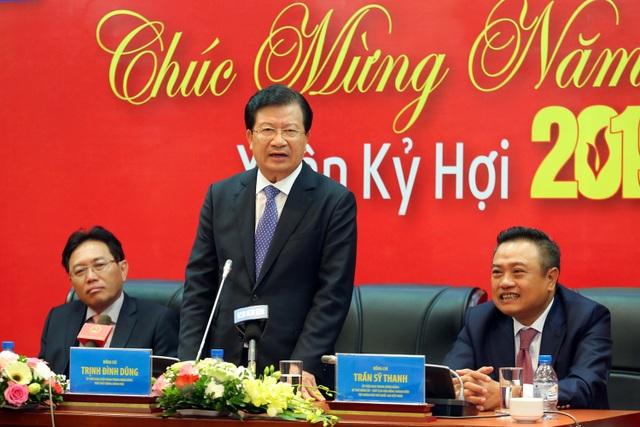 Phó Thủ tướng Trịnh Đình Dũng làm việc, chúc mừng năm mới Tập đoàn Dầu khí Việt Nam - 3