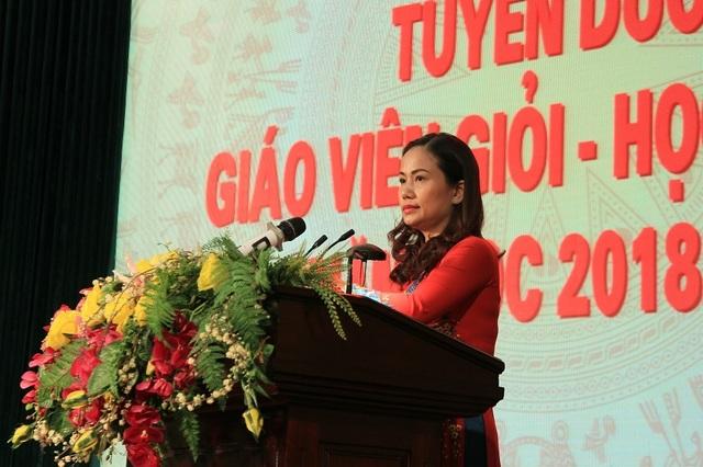 Hà Nội: Tuyên dương 89 giáo viên và 129 học sinh tiêu biểu quận Hoàn Kiếm - 5
