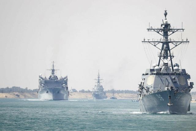 Hải quân Mỹ quá tải vì căng mình hoạt động ở nhiều điểm nóng - 1