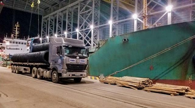 Hòa Phát xuất khẩu lô thép đầu tiên từ Dung Quất sang thị trường Nhật Bản - 2