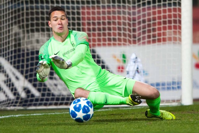 Filip Nguyễn được vinh danh là Thủ môn xuất sắc nhất giải CH Séc - 1