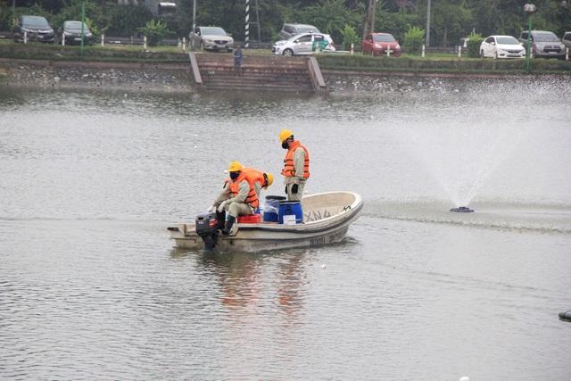 Chế phẩm Redoxy-3C cứu 87 hồ ở Hà Nội? - 2