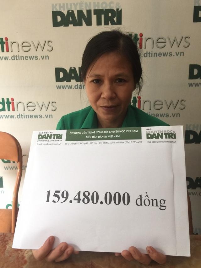 Nhận 160 triệu tiền bạn đọc giúp đỡ, người đàn bà có con chờ chết chia nỗi đau với cậu bé 12 tuổi bị ung thư - 3