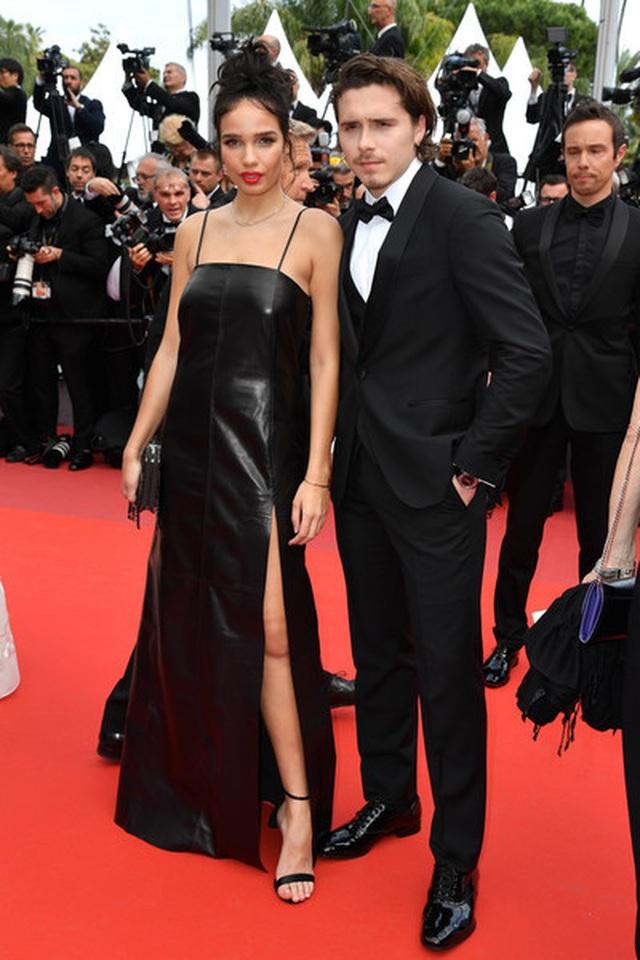 Cậu cả nhà Beckham dự LHP Cannes cùng bạn gái - 8