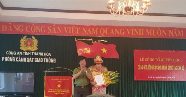 Công an tỉnh Thanh Hóa thực hiện sáp nhập, hợp nhất các phòng - 1