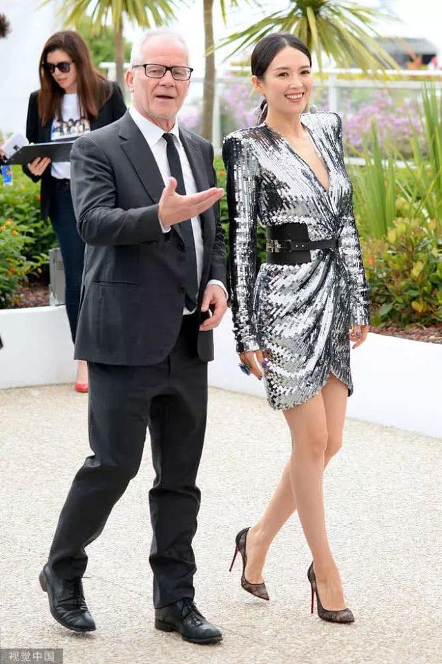 Thần thái đỉnh cao, Chương Tử Di tiếp tục tỏa sáng tại Cannes - 4