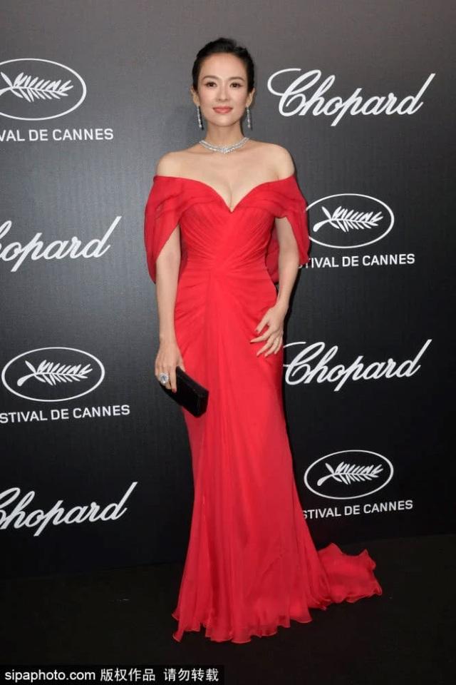 Thần thái đỉnh cao, Chương Tử Di tiếp tục tỏa sáng tại Cannes - 30