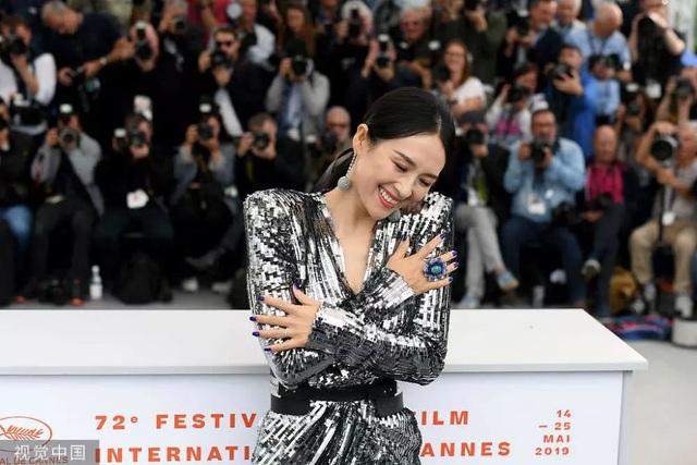 Thần thái đỉnh cao, Chương Tử Di tiếp tục tỏa sáng tại Cannes - 6