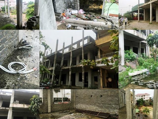 Nhà trường khốn khổ vì công trình xây dựng dở dang suốt nhiều năm - 1