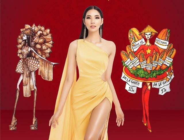 Xích lô, chọi trâu… được thiết kế cho Hoàng Thùy để mang đến Miss Universe 2019? - 1