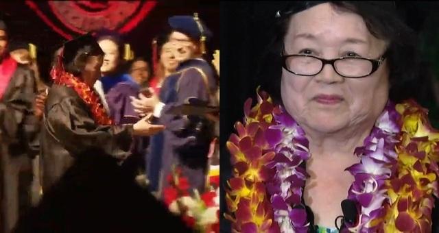 Cụ bà 80 tuổi nhận bằng đại học sau 10 năm miệt mài kinh sử - 1