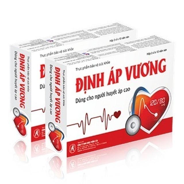 Thực phẩm bảo vệ sức khỏe Định Áp Vương mang đến công dụng gì? - 1
