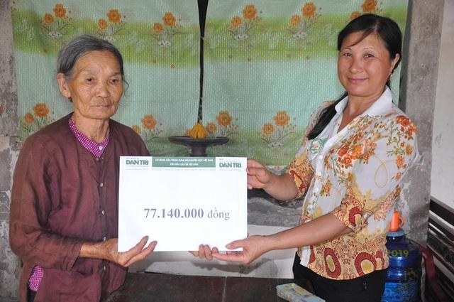 Bạn đọc Dân trí giúp đỡ cụ bà tuổi 80 đi nhặt phế liệu nuôi cả nhà số tiền hơn 77 triệu đồng - 6