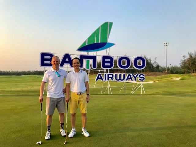 Đại sứ Anh lần đầu chơi golf tại Việt Nam - 1