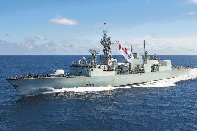 Chiến hạm hiện đại Hoàng gia Canada sẽ lần đầu đến thăm Cam Ranh - 1
