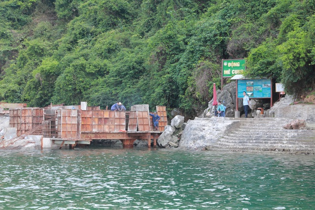 Chưa có đánh giá tác động môi trường, BQL Vịnh Hạ Long vẫn rầm rộ thi công tại vùng lõi di sản - 4